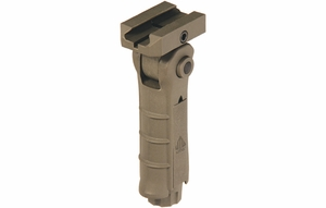 Ergonomic Ambidextrous 5-position Foldable Foregrip - Flat Dark Earth