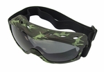 Evader II FogStopper Goggles - Camo Frame / Clear Lenses