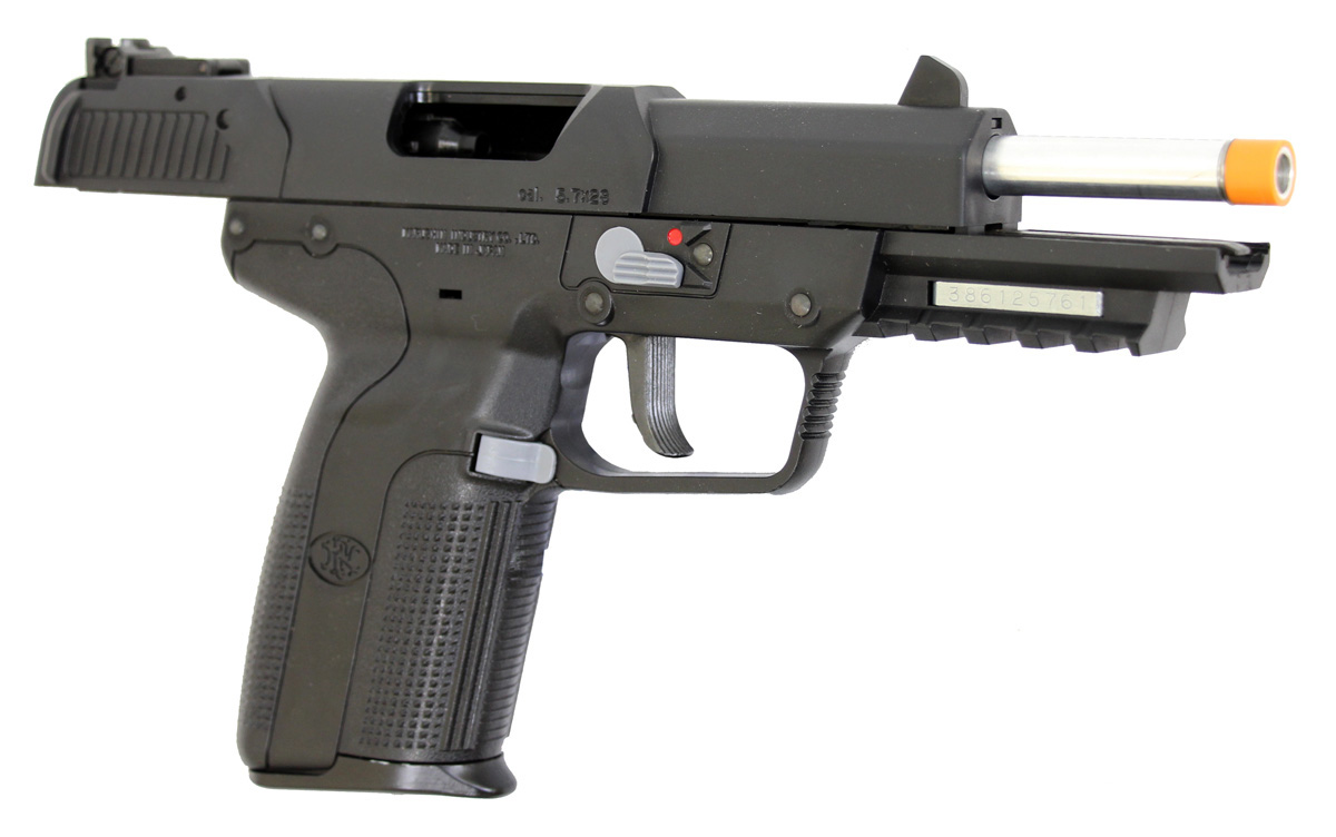fn herstal five seven co2 blowback airsoft pistol by marushin