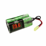 Valken Energy NiMH 9.6v 2000 mAh Butterfly Battery