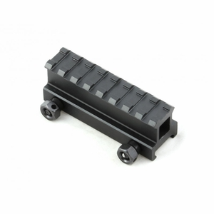 Raptors Airsoft RTQ Metal Compact M4/M16 See Through Riser Mount