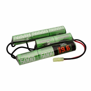 Valken Energy NiMH 9.6v 5000 mAh Crane Stock Battery