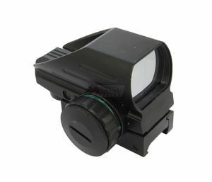 Full Metal Red/Green Reflex Sight, Multi Reticle