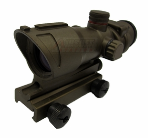 Full Metal Tactical Red/Green Dot Sight, Dark Earth