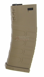 G&G 120R Mid-Cap Magazine for GR16/M4 AEGs, Tan