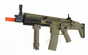 G&G Armament FN SCAR-L Officially Licensed AEG, Tan - REFURBISHED