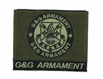 G&G Armament Official Velcro Patch, Square, OD
