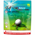 G&G Biodegradable Airsoft BBs, 0.28g, 1KG Bag, 4000 Rounds, White