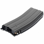 G&G CM16 Gas Blowback GBB Magazine, Fits Carbine and Raider Gas Rifles - Black - REFURBISHED