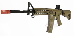 G&G CM16 Raider-L Combat Machine, Tan, High Velocity Version