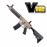 G&G CM18 MOD1 Two-Tone Tan/Black Powered by Valken V12 Engine