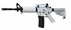 G&G Combat Machine Chione 16 Blowback AEG, Winter White M4A1