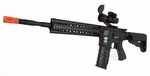 G&G Combat Machine CM16 R8-L AEG Airsoft Rifle, Black