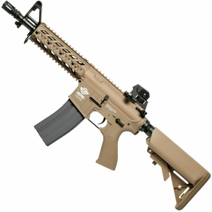 G&G Combat Machine CM16 Raider, Gas Blowback Airsoft Rifle, Tan, Version II