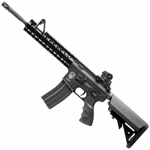 G&G Combat Machine GR15 Raider XL AEG Airsoft Rifle, Blowback, Black