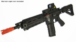 G&G Combat Machine GR4 G26 Advanced Blowback AEG Airsoft Gun, Black