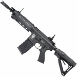 G&G Combat Machine GR4 G26 Advanced Blowback AEG Airsoft Gun, Black - REFURBISHED