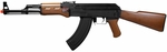 G&G Combat Machine Gun RK47, Imitation Wood AK-47 AEG