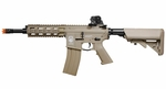 G&G GR16 CQW Rush Blowback AEG Airsoft Rifle, Tan