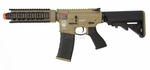 G&G GR4 CQB-S MINI AEG Airsoft Gun with Blowback, Tan/Black