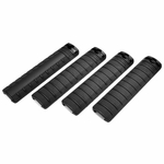G&G RIS Handguard Panel Set, Rail Covers, Black