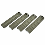 G&G RIS Handguard Panel Set, Rail Covers, OD Green