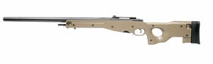 G&G Top Tech G960 Gas Airsoft Rifle, L96 Style, Desert Tan