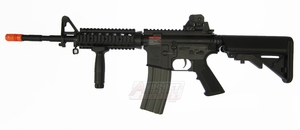 G&G TR16 R4 Commando Full Metal AEG, Top Tech Blowback M4 Airsoft Gun