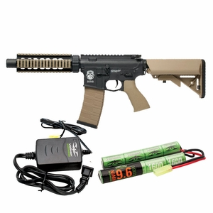 G&G-Valken Energy Combo GR4 CQB-S Mini AEG - Black & Dust (Two-Tone)