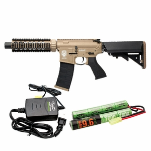 G&G-Valken Energy Combo GR4 CQB-S Mini AEG - Dust & Black (Two-Tone)