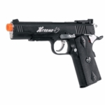 G&G Xtreme 45 CO2 Airsoft Pistol with Blowback, Black, 450 FPS - REFURBISHED