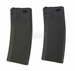 G&P 340 Round Troy BattleMag for M4, Set of 2, Black
