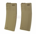 G&P 340 Round Troy BattleMag for M4, Set of 2, Dark Earth