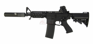 G&P Rapid Fire II Full Metal M4 AEG with QD Barrel Extension