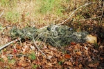 Ghillie Paintball Camouflage Rifle Wrap Synthetic thread Woodland