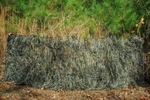 Ghillie Paintball Ultra Light Synthetic Blind Cover Woodland