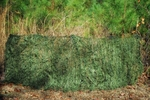 Ghillie Paintball Ultra Light Synthetic Folding Blind Cover and Bag Leafy Green
