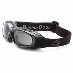 GOGGS Evader I Over-RX Goggles w/ Fogstopper, Clear Lens, Carbon Fiber Frame
