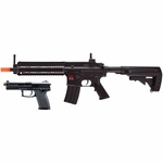 H&K 416 Combat Kit, Full Auto Rifle and Spring Pistol