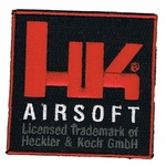 H&K Airsoft Official Velcro Patch