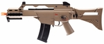 H&K G36X Electric Airsoft Gun, Dual Power, Flat Dark Earth