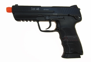 H&K HK45 Full Metal Gas Blowback Airsoft Pistol by KWA