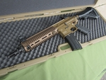 ***PRE-ORDER*** - H&K Limited Edition 416 AEG Airsoft Rifle, Dark Earth/Black