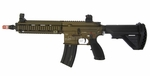 H&K Limited Edition 416 AEG Airsoft Rifle, Dark Earth/Black