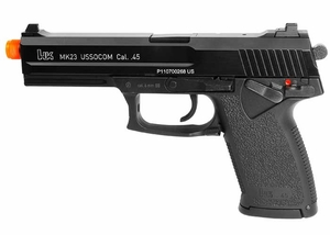 H&K MK23 USSOCOM Gas Blowback Airsoft Pistol by KWA
