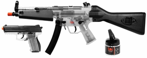 H&K MP5 & P30 Holiday Kit, Clear by Heckler & Koch