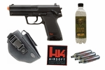 H&K USP CO2 Airsoft Pistol Action Kit