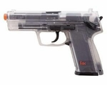 H&K USP CO2 Airsoft Pistol by Heckler & Koch, Clear