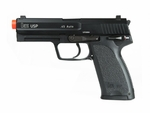 H&K USP Gas Blowback Airsoft Pistol, Full Metal by KWA