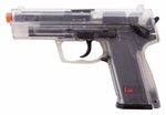 H&K USP Spring Airsoft Pistol, Clear